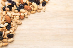 Trail mix seed background Stock Photos
