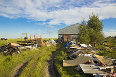 Free Trail Of Junk Or Collectibles Stock Photography - 32931282