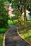 Trail at park Royalty Free Stock Image