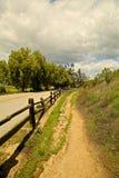 Trail path stock image