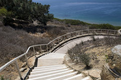Trail at Point Loma Stock Photography