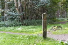Trail post Royalty Free Stock Photography