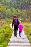 Trail on  Preikestolen Stock Photos