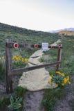 Trail restoration in Wenatchee, Washington Royalty Free Stock Image