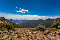 Trail Ridge Road in Rocky Mountain National Park Stock Photography