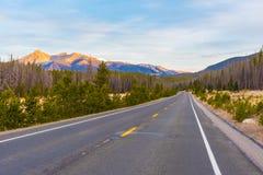 Trail Ridge Road, Rocky Mountain National Park Stock Photography