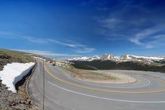 Trail Ridge Road Royalty Free Stock Photography
