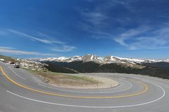 Trail Ridge Road, USA Royalty Free Stock Photos