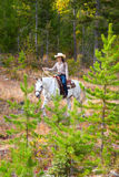 Trail Riding Royalty Free Stock Image