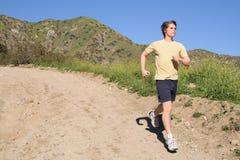 Trail Runner stock photos