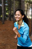 Trail runner portrait Royalty Free Stock Photo