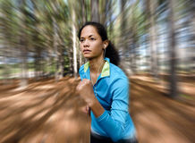 Trail runner portrait Royalty Free Stock Photography