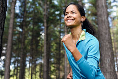 Trail runner portrait Royalty Free Stock Photos