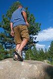 Trail Running Royalty Free Stock Photo