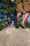 Trail Running Royalty Free Stock Photography