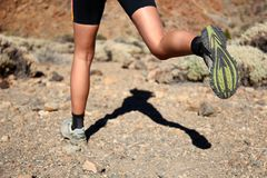 Trail Running Stock Photos