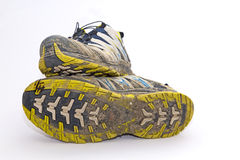 Trail running shoe Royalty Free Stock Images