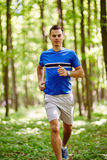 Trail running Royalty Free Stock Images