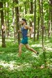 Trail running Stock Photos