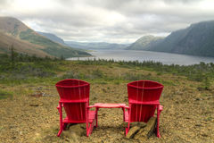 Trail's End on Trout River Pond Royalty Free Stock Image