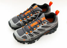Trail shoes royalty free stock images