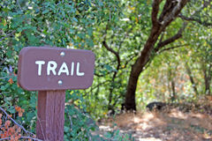 Trail Sign Stock Photos