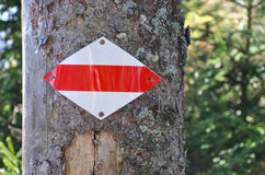 Trail Sign Royalty Free Stock Photo
