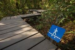 Trail signage Royalty Free Stock Image
