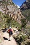 trail som waling royaltyfri foto