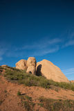 Trail to Boulders in California Stock Photography