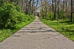 Trail to the Bridge Royalty Free Stock Photo