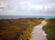 Trail to the Caribbean Sea Stock Photos