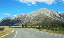 Trail to Cass Lagoon. Arthur`s Pass National Park,  New Zealand Stock Photography
