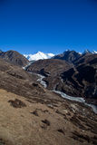 Trail to Everest base camp Stock Photography