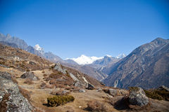 Trail to Everest base camp Stock Images