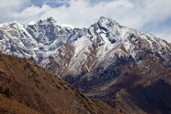 Trail to Everest base camp Stock Photos