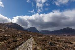 Trail to Glencoe and Kingshouse Royalty Free Stock Image