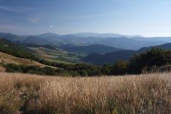 On the trail to Halicz peak Stock Photos