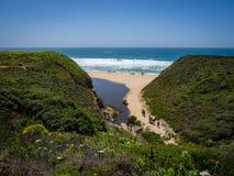 Free Trail To Montara State Beach Stock Photos - 94431703