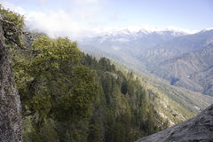 Trail to Moro Rock in Sequoia National Park Stock Photos