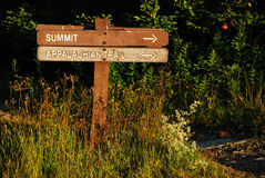 Trail to Mt Greylock Summit Royalty Free Stock Photography