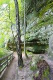 Trail to Munising Falls Royalty Free Stock Photos