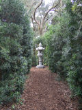 Trail to the Peace Lantern Sculpture Royalty Free Stock Photography