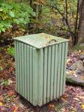Trail Trash Box Royalty Free Stock Image