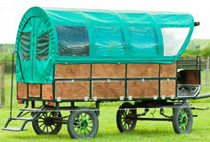 Trail Wagon. The old wagon outside.Germany Stock Images