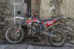 Trailbike royalty free stock photo