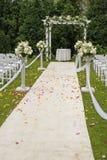 trailbröllop Arkivfoton