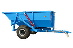 Trailed spreader fertilizer Royalty Free Stock Photos