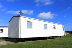 Trailer on caravan park Royalty Free Stock Images