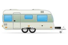 Trailer caravan vector illustration Stock Photos